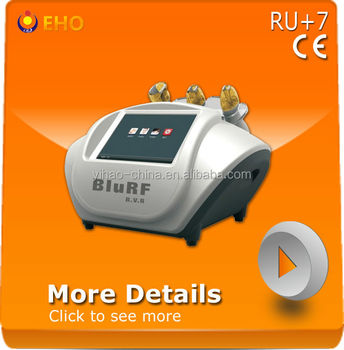 RU+7 wrinkle removal beauty machine in rf and vacuum system