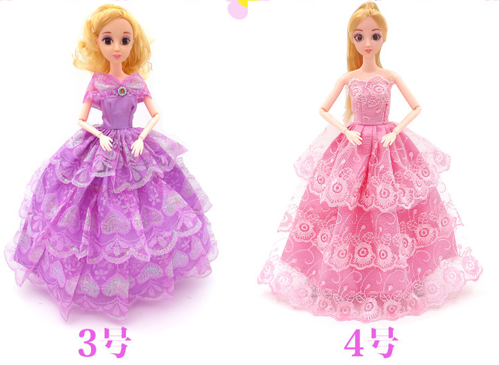 2017 Wholesale 30cm doll dress up games for girls american girl doll clothes