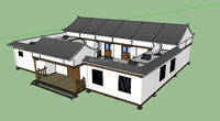 Economic Modular Home Flat Pack Container House with Sandwich Panel