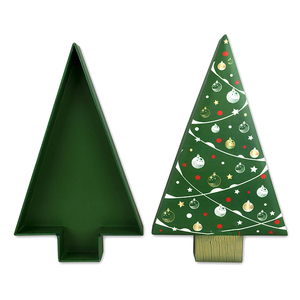 christmas box in tree shape wholesale tree shaped suppliers alibaba - Luxury Christmas Decorations Wholesale