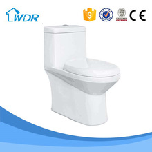 Ceramic Siphon Jet Flushing Bathroom Toilet W9097A