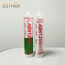 1200 Acetic Anitfungal Glass Sealant Adhesive / Gp Silicone Sealant For Window Seal Installation