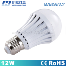 Rechargeable Emergency Smart lights E27 12w led bulb light intelligent bulb lamp with rechargeable battery