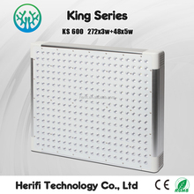 2016 superior high technology commercial exhibition led grow light dimmable full spectrum 100-600w king series grow lights