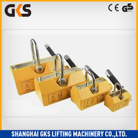 1 ton lifting magnet hydraulic permanent magnetic lifter
