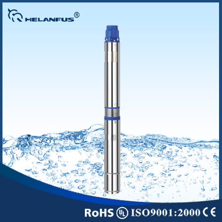 "4""100QJ Stainless Steel 5hp Pump Submersible Pumps"