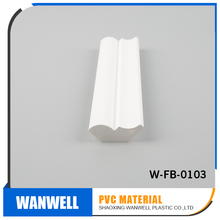 high quality pvc foam decoration material for building bed mould white vinyl