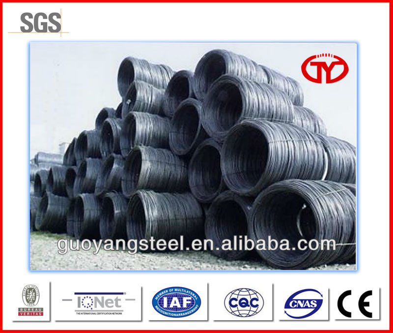 china steel wire rod in coil