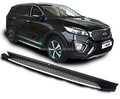 2015 sorento side step foot plate,sorento auto part SUV 4x4 running board