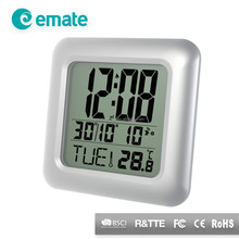 Digital Waterproof Bathroom Clock