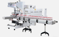 overwrapping case packer,heat shrink tunnel machine