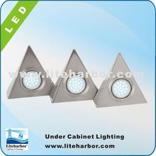 CE 4.5W 3 Piece Triangular energy saving G4 led puck light