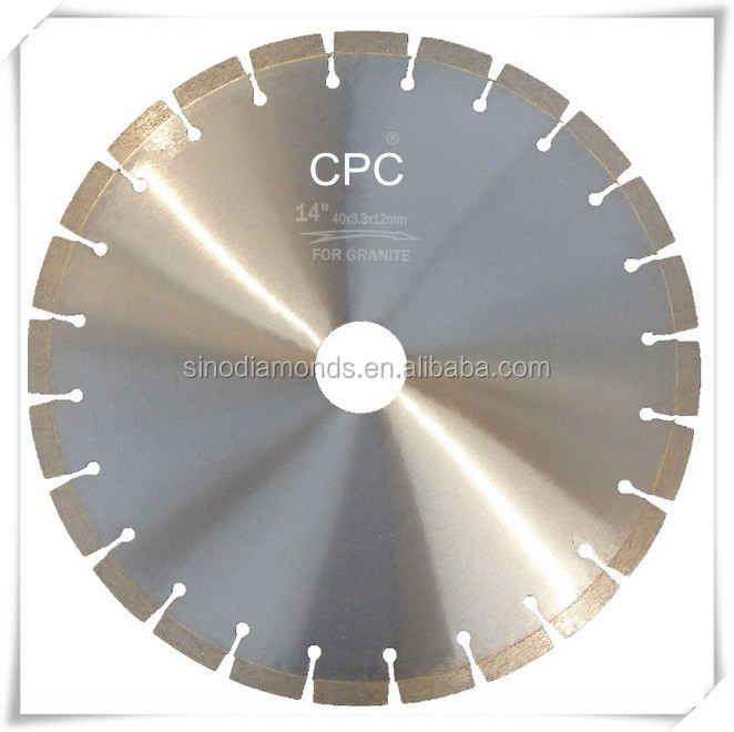 Laser welded diamond blade 12 inch/diamond cutting blade