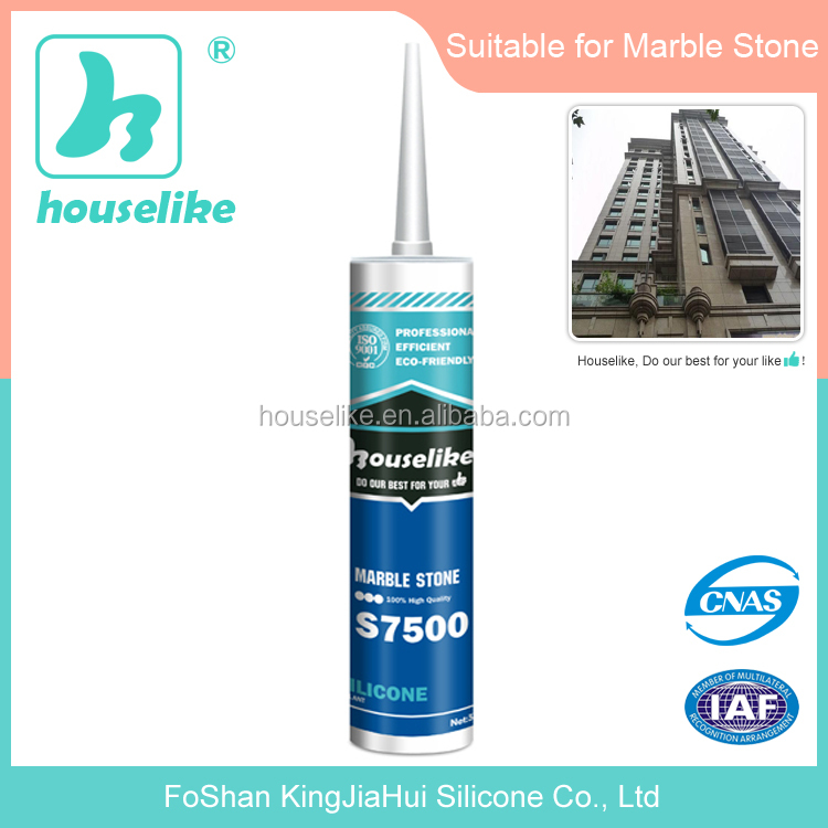 S7500 RTV Marble Neutral Outdoor silicone sealant