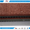 Outdoor sports surface sandwich system synthetic athletic track