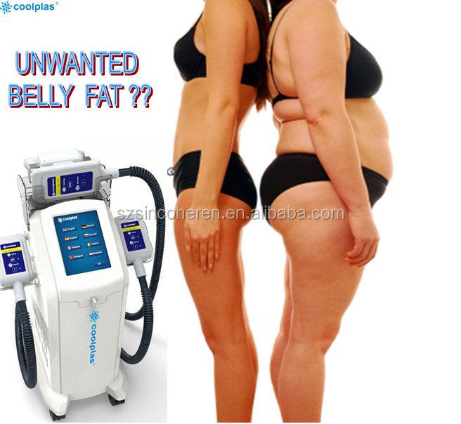 Sincoheren coolplas Liposuction cryo fat freezing equipment/ cryotherapy slimming machine