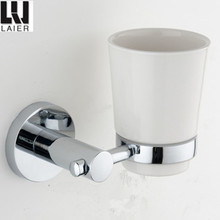 big base zinc chrome bathroom accessories set tumbler holder 12838