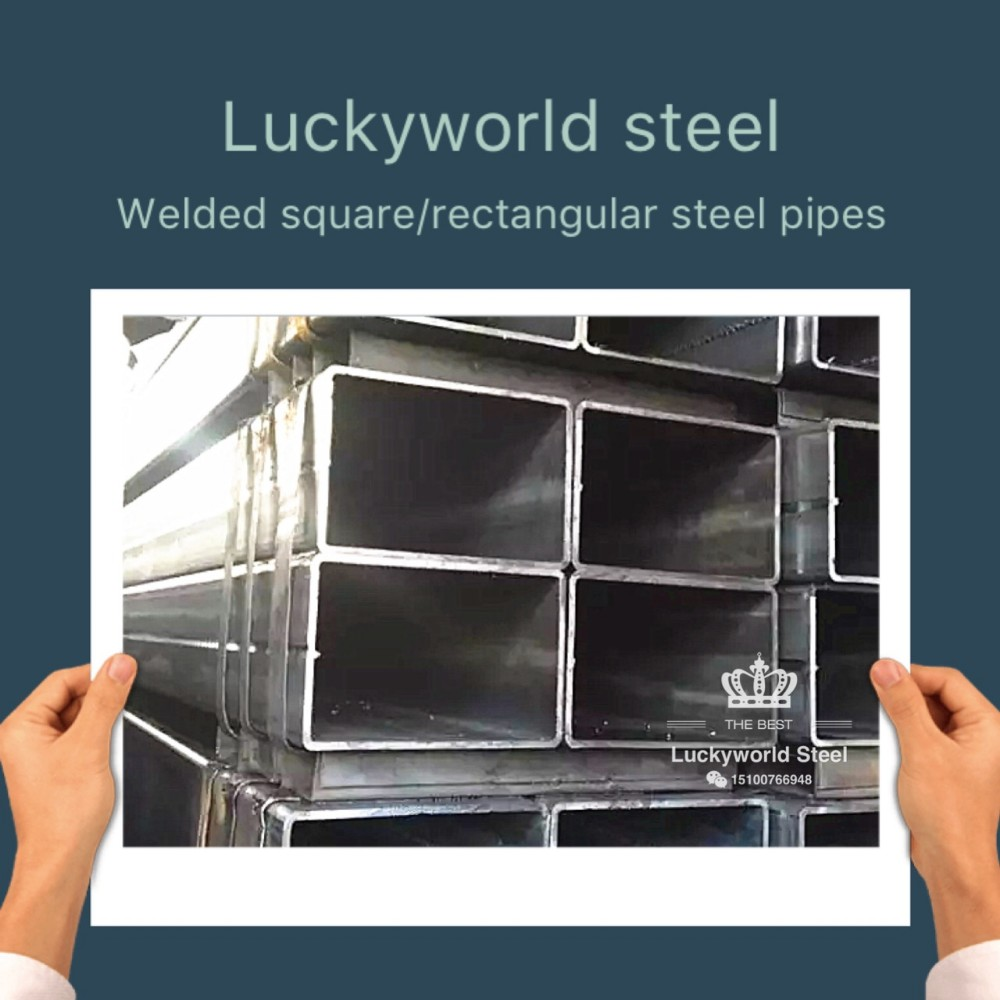 chinese supplier manufacturing 300*400 greenhouse galvanized welded rectangular steel pipe