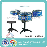 Play At Home Super Cool Plastic Toy Drum Set For Children