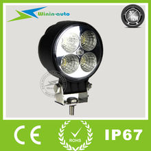 "Factory price 3"" 12W car driving lights waterproof 4 off road lights promotion WI3121"