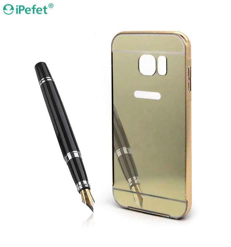 Ultra Thin Aluminum Mobile Phone Case Bumper For Samsung S7 With Metal Frame