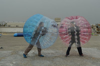 High quality human bouncing body zorbing, football bubble balls with best price