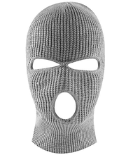 Knit Black Face Cover Thermal Ski Mask for Winter Cycling & Sports