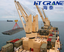 marine electric hydraulic pedestal lifting crane for sale