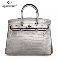 China supplier wholesale lady's fashionable handbags croc paterns designer bags top selling bags