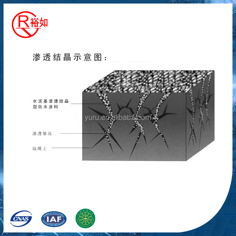 Other Waterproofing Materials Type crystalline concrete waterproofing