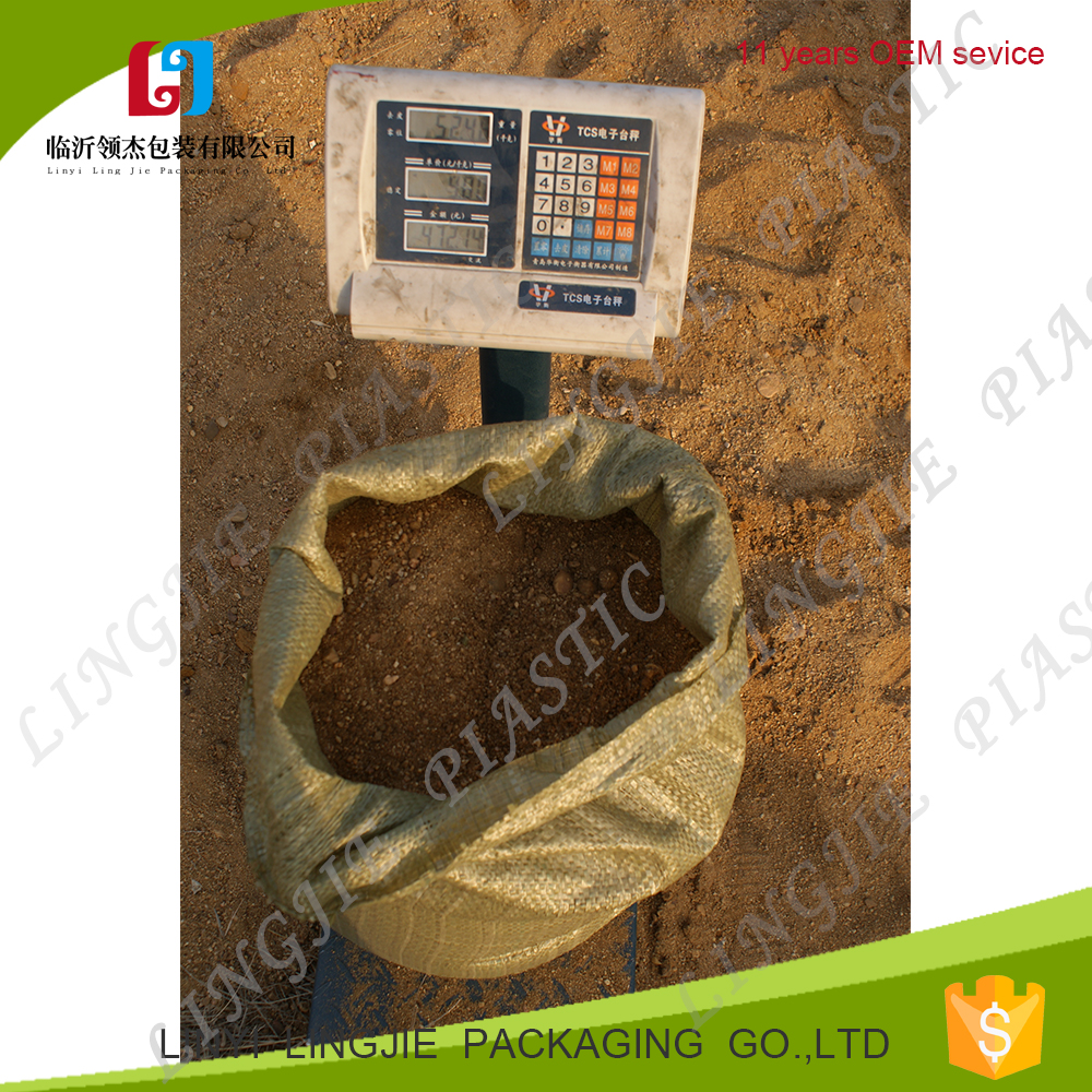 china supplier new polypropylene packaging bag,plastic packing pp woven sack, sand bag waterproof
