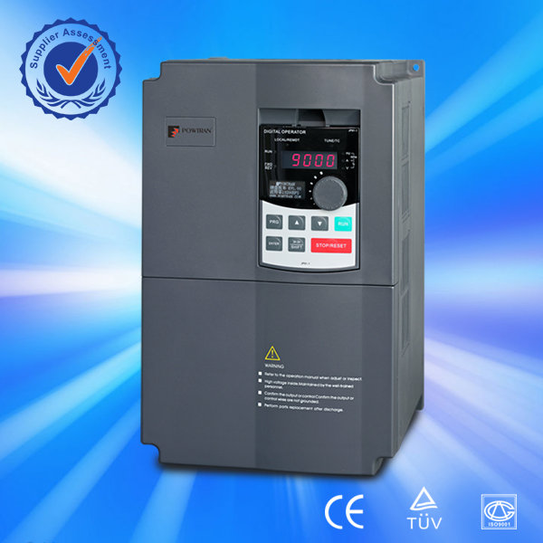 Powtran best price high performance 25 kw 1 phase to 3 phase converter
