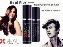 100% natural, fast effect 180ml Real+ hair growth spray/OEM and private label appreciated