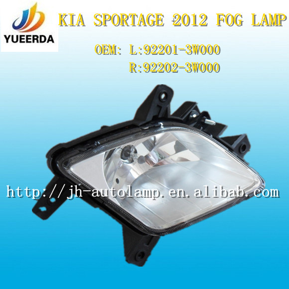 fog lamp for Sportage 2012,Car Accessories