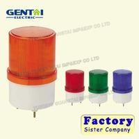 Manufacture 24v traffic light IP40 blue red tower light yellow green flash LED 12v rotator LED warning lights