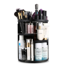 360 Degree Rotation Makeup Organizer 7 Layers Adjustable Multi-Function Cosmetic Storage Box Fits Toner Creams Makeup Brushes