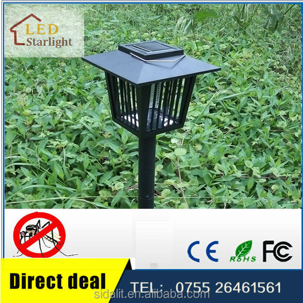 Outdoor advanced solar insect killer fluorescent lamp