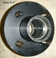 American wheel hub for 2000lbs (4 bolts)