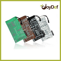 New fashional hot selling microfiber glasses pouch with epoptic printing