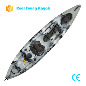 Fishing Sit On Top Ocean Kayak With Pedals and Rudder System