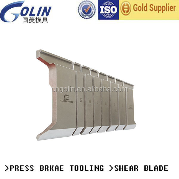 Mould upper punch part and lower part for bending machine