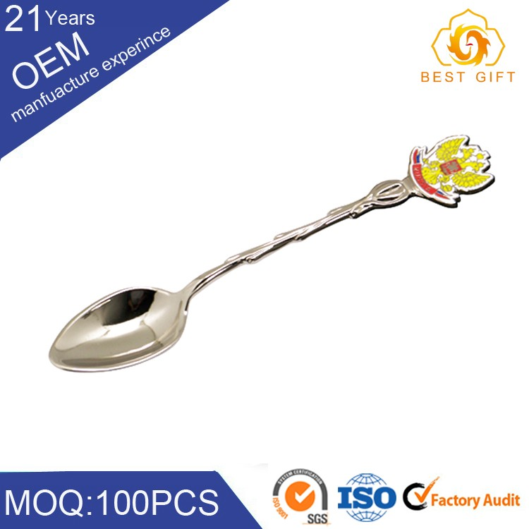 High quality baby bulk mini metal spoon