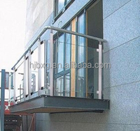 Decorative stainless steel balusters post