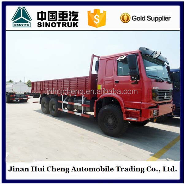 China manufacture 10 wheels 6x4 HOWO cargo truck price for sale