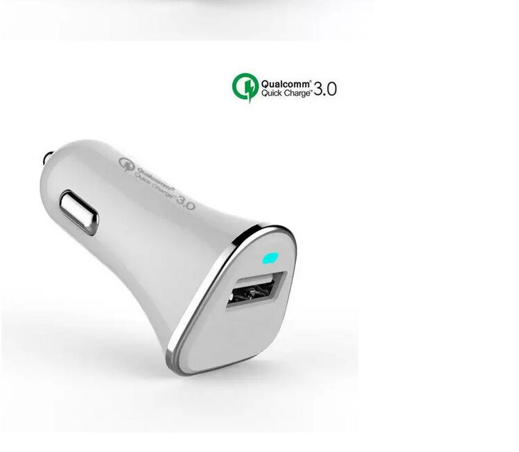 Amazon Product Fast Rapid Charging Qc3.0 Single Car Charger For Mobile Phone
