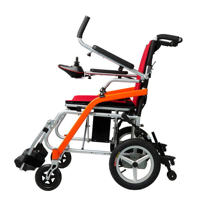 Aerospace grade magnesium alloy material electric wheelchair suitable for air travel
