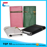 Folio Style Flip Leather Case for samsung Galaxy S3 S4 S6 with Card Slots