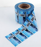 Custom Bottle Film Label in Roll Auto Packing Shrink Label
