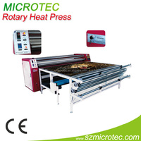 Multifunctional Oil Heating rotary machine With Take-up device for cloth, curtains,