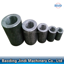 Screw Thread Rebar Splicing Coupler/ Steel Bar coupler for rebar jointing